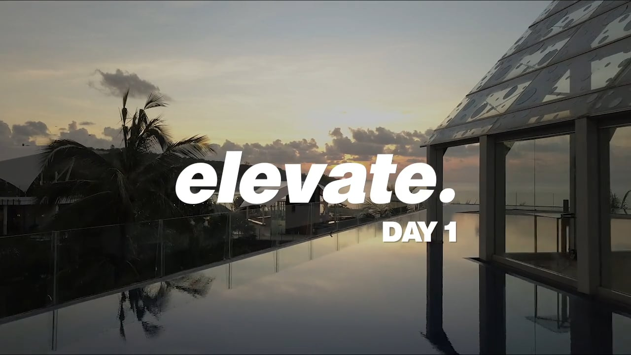 Elevate Day 1